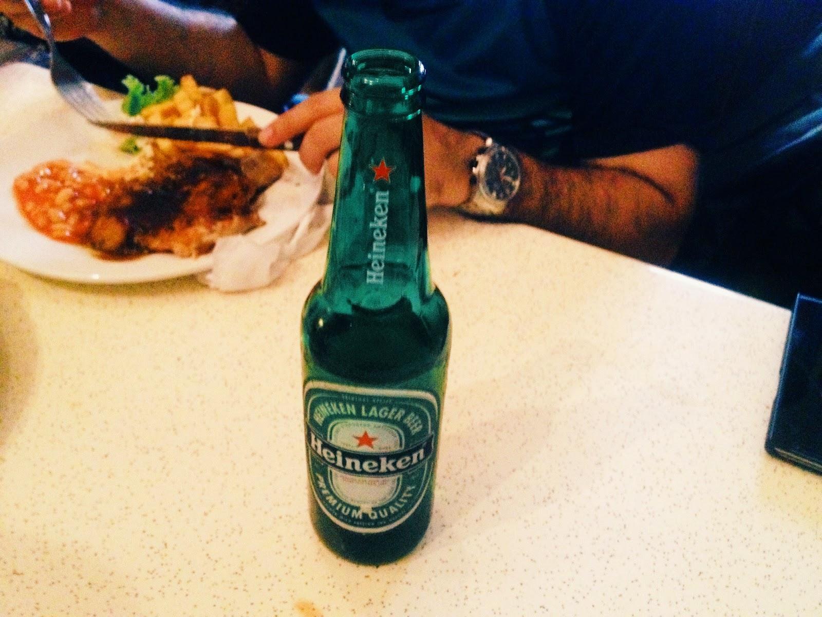 Heineken ; Roost Cafe Juice+Bar @ Jalan Dhoby, Johor Bahru, Johor, Malaysia