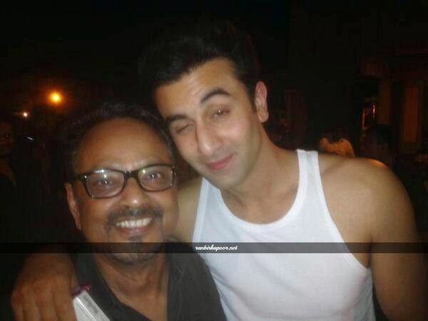 Ranbir Kapoor at the Bombay Velvet schedule wrap-up party last night