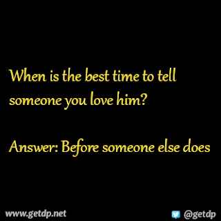 how to tell someone you love him indirectly