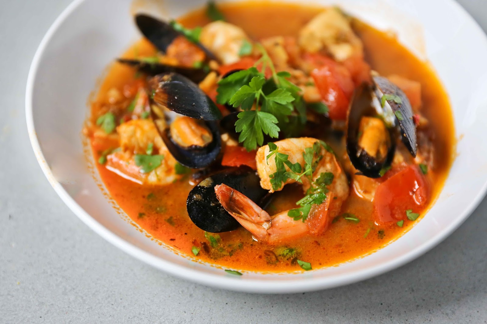 seafood stew with fennel and thyme recipe dishmaps