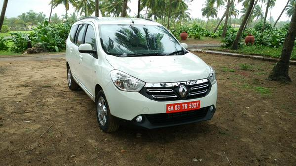 Renault Lodgy front view