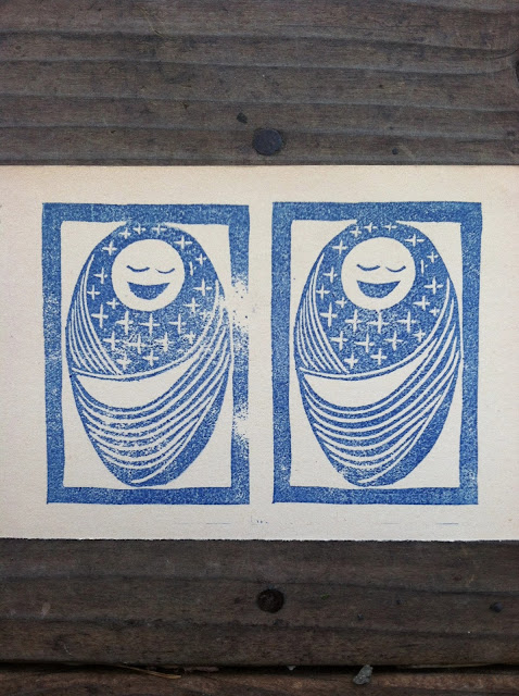 Killscrow, Lana Fee Rasmussen, block print
