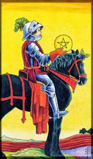 knight of pentacles Universal Rider Waite Tarot