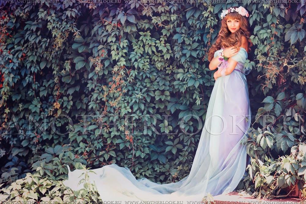 платье со шлейфом фотосессия