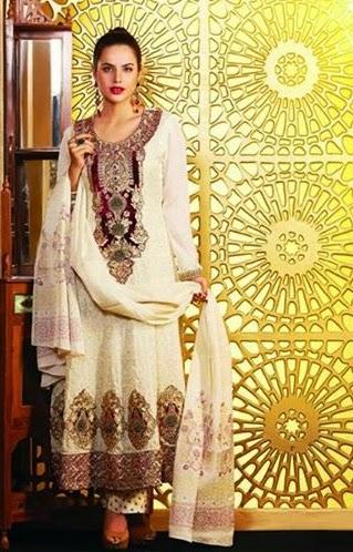 Tawakkal Embroidered Winter Dress 2014-15