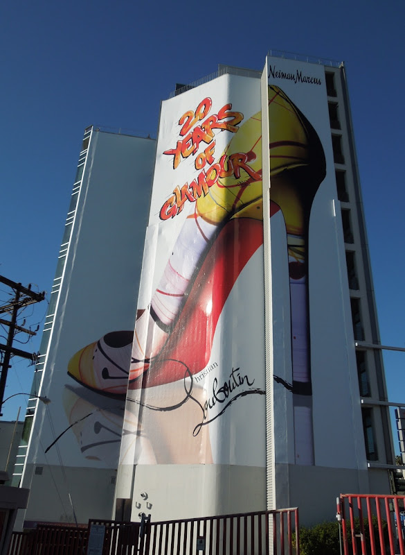 20 years Christian Louboutin billboard