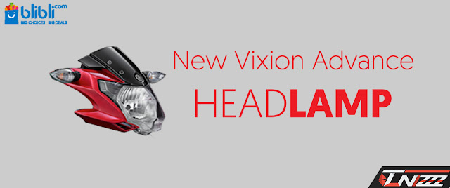Headlamp New vixion advance