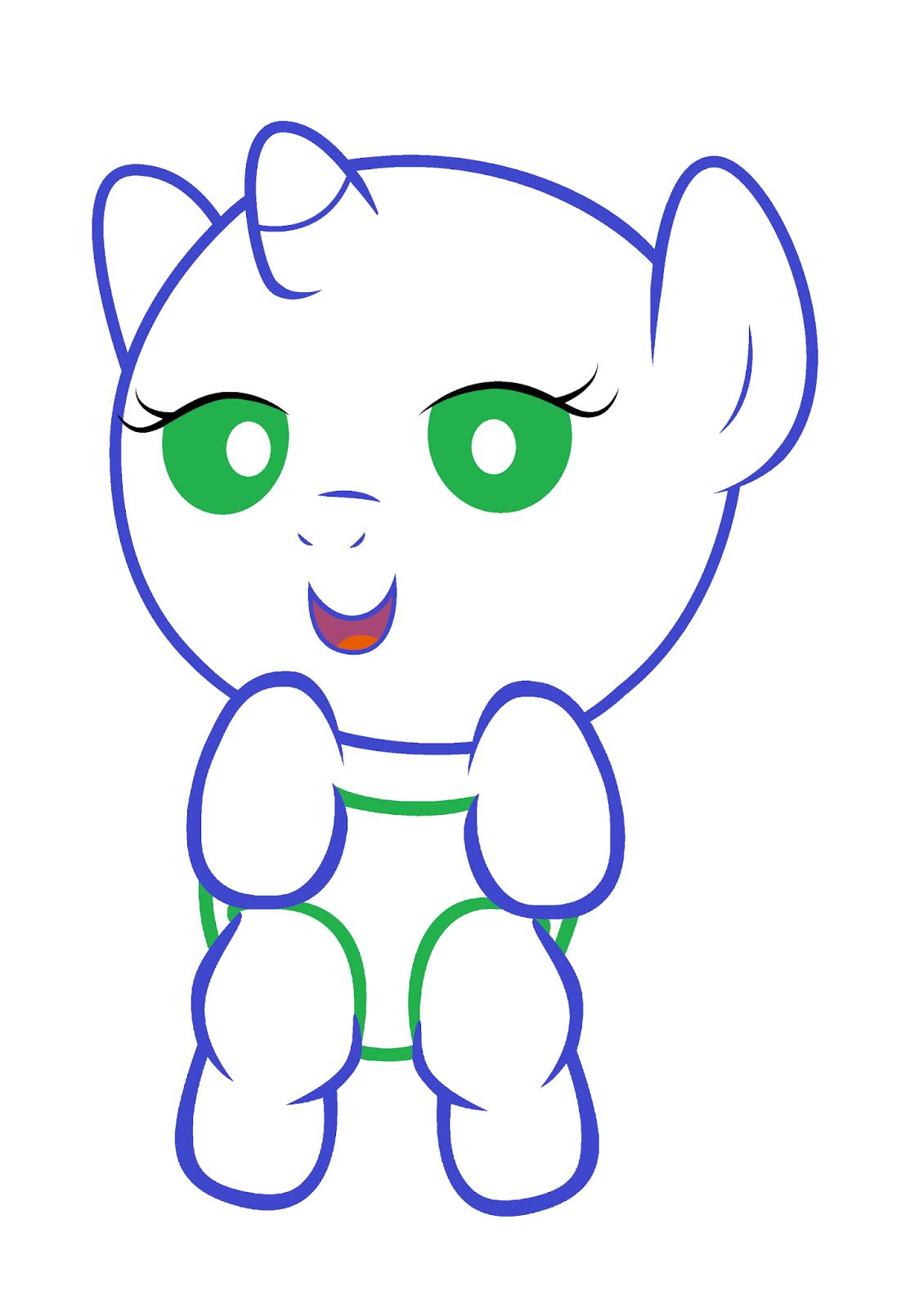 My Little Pony Brasil Bases fofas