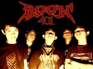 room 401 band metalcore denpasar bali