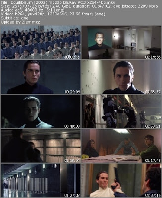 Equilibrium Movie Screen