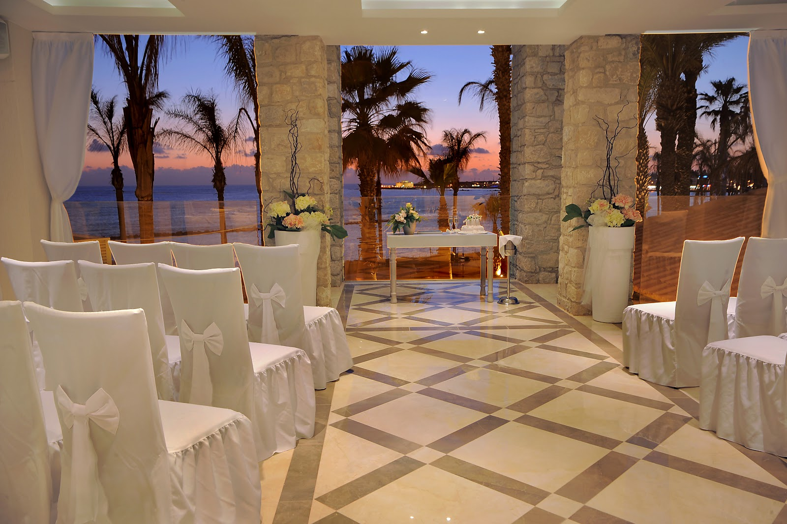 Perfect weddings abroad blog new alexander the great for Terrace wedding