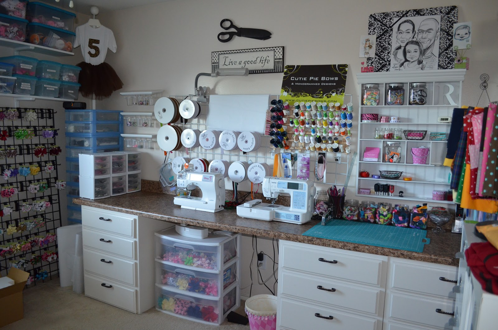The levan family craft studio for Art and craft for room decoration
