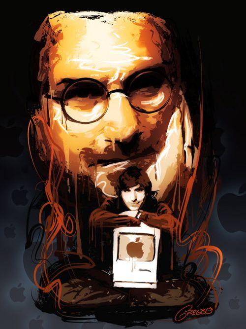 40 Lukisan Steve Jobs yang Mengagumkan: He Who Inspired