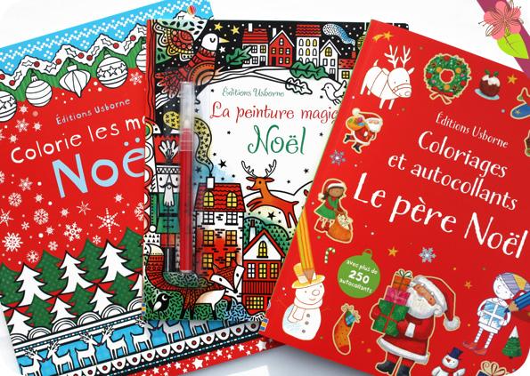 Cahiers d'activités sur Noël - éditions Usborne