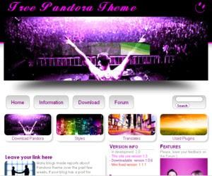 Pandora WordPress Theme