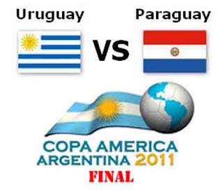 paraguay vs uruguay, paraguay uruguay, final copa america uruguay  vs paraguay july 25 2011