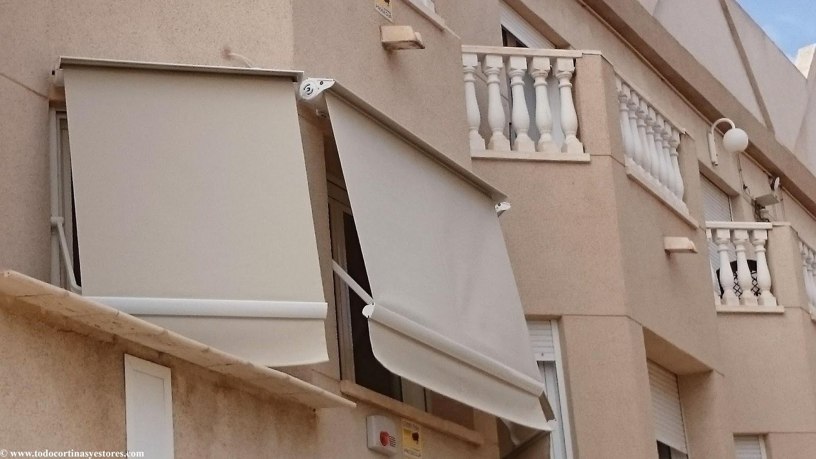 Decoracion interior cortinas verticales estores for Poleas dobles para toldos