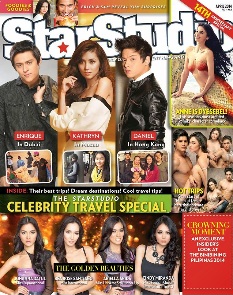 Star Studio Magazine April 2014 issue