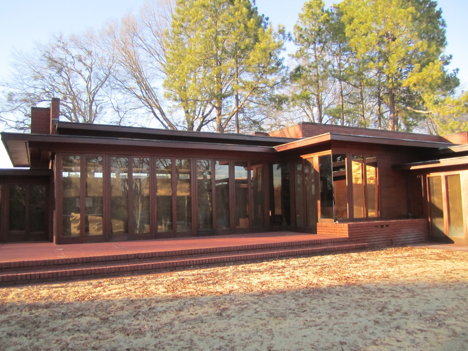 A Visit To The Only Frank Lloyd Wright House In Alabama The Rosenbaum Home