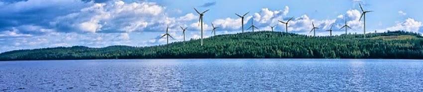 Tuulivoimaloiden havainnekuva