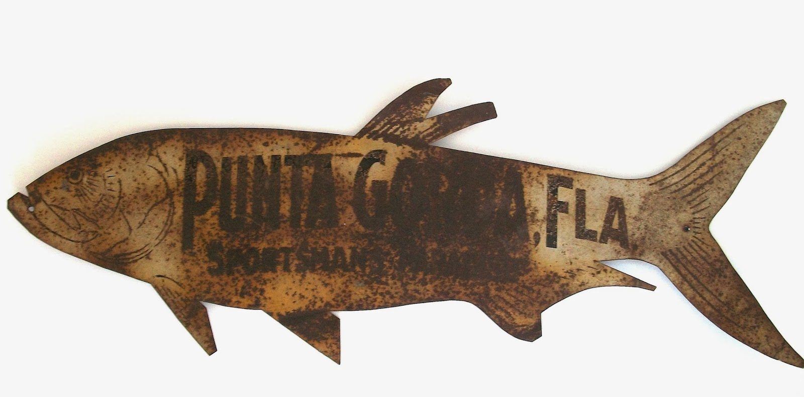 Lots Of Folk Art Fish Signs Are Fake I Have No Idea Why But Guess Unscrupulous Antique Dealers Like To Reel In A Catch At Some Those