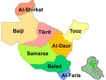 Salahaddin Map