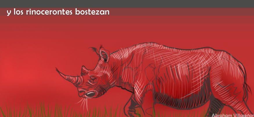 Y los rinocerontes bostezan