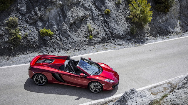 McLaren MP4 12c Spider Top