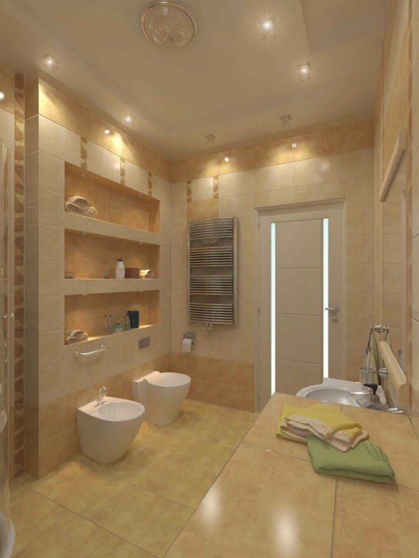Bathroom Lighting Tips how to choose the proper bathroom lighting ideas: 20 examples