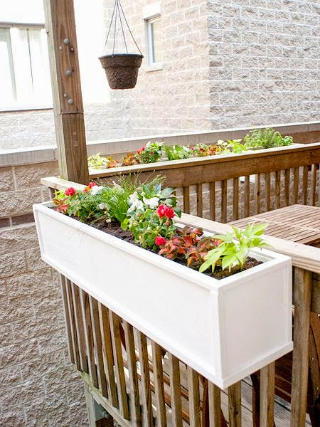 DIY Flower Boxes Think We 39 Ll Do This On The Front Deck