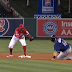 Rene Rivera's slide into second comes up embarrasingly short (Video)