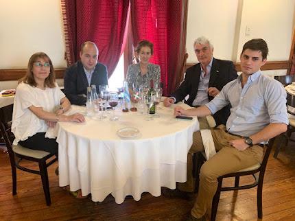 Autoridades del Gobierno Vasco en Iparraldeko