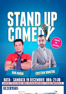 Stand-Up Comedy Sambata 19 Decembrie Valcea