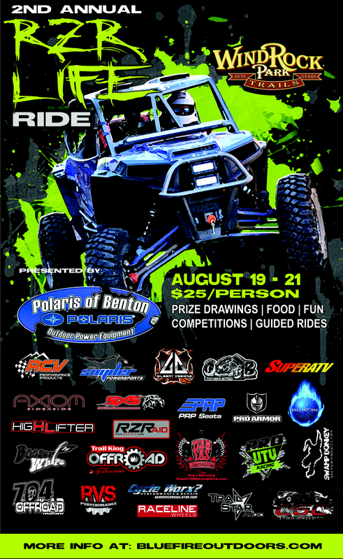 Second Annual RZR LIFE Ride