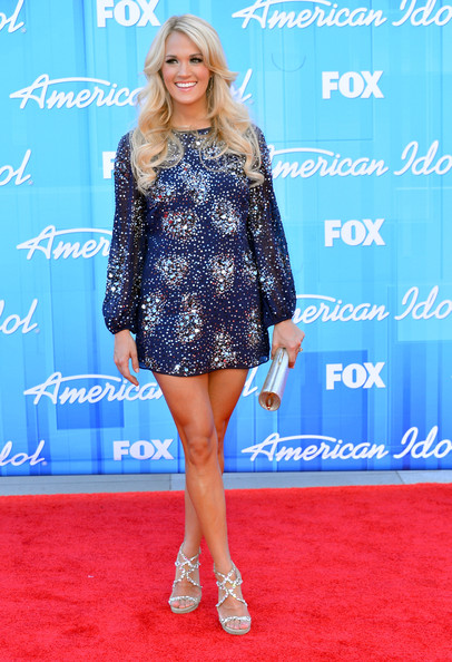 Carrie Underwood Mini Dress