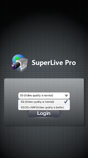 Configurando atualização do Super Live Pro