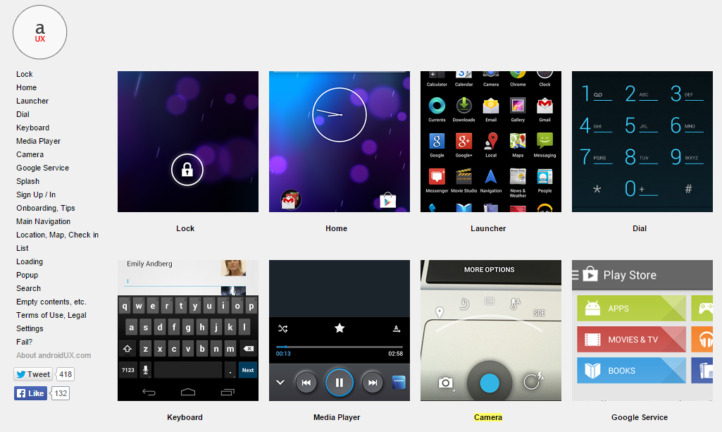 Android UX