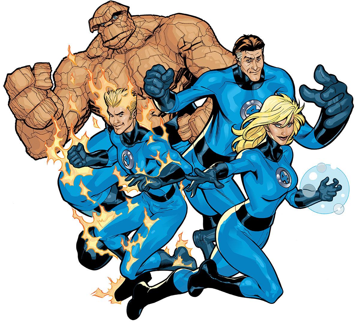 Art Of Comics And Manga: Super Heroes: Fantastic Four