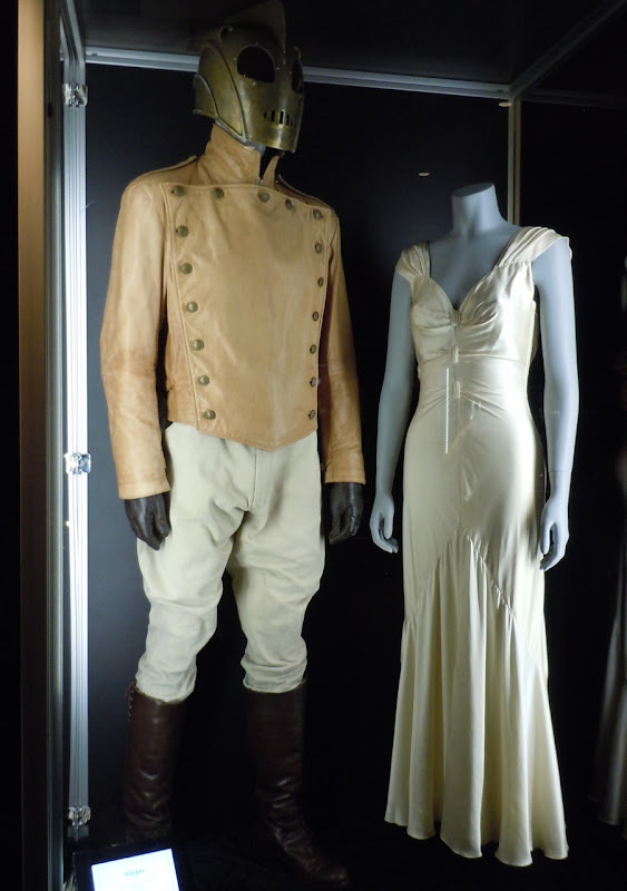 Original Rocketeer movie costumes