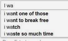 google poem I wa