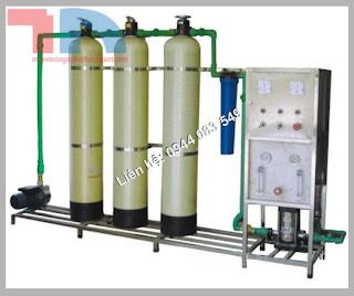 Hệ thống lọc nước tinh khiết RO 250l/ h, Dây chuyền lọc nước tinh khiết