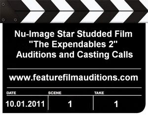 The Expendables 2 Auditions and Casting Calls
