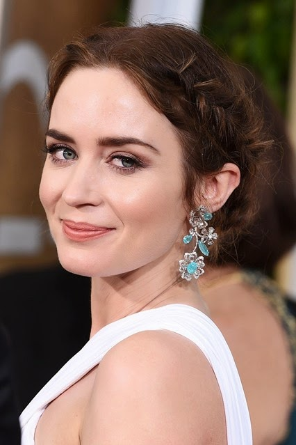 Emily Blunt Golden Globe Awards 2015