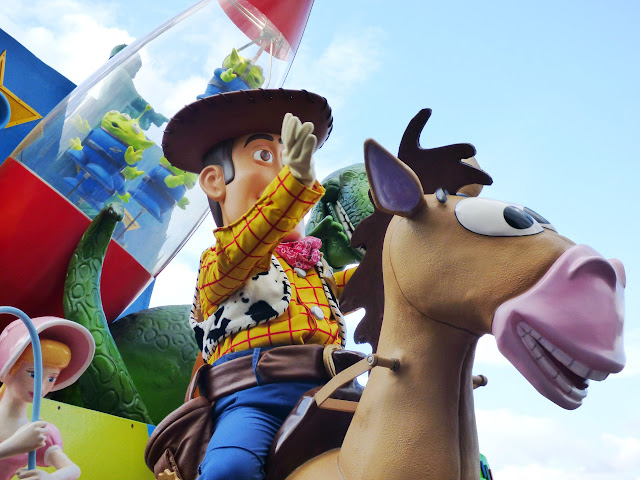 Woody sur son cheval