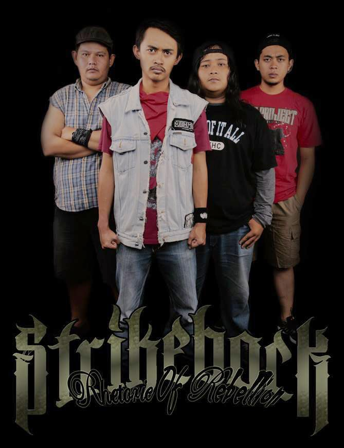 Strikeback Band Hardcore Bandung foto personil logo artwork wallpaper