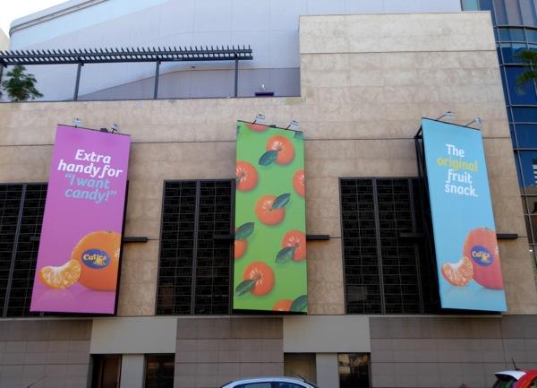 Cuties clementines billboards