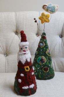 Hooked Santa
