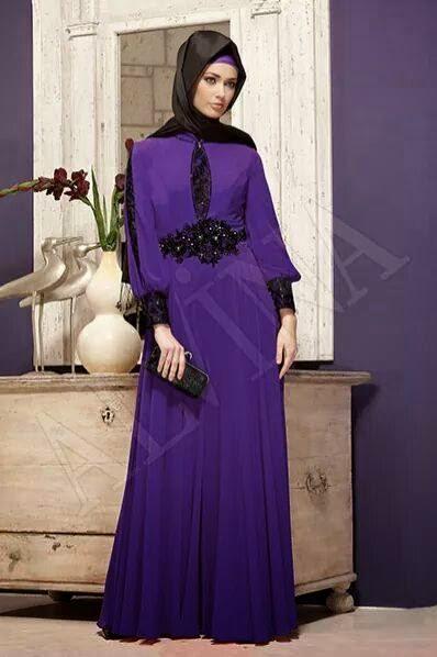 Robe de soirée hijab 2015