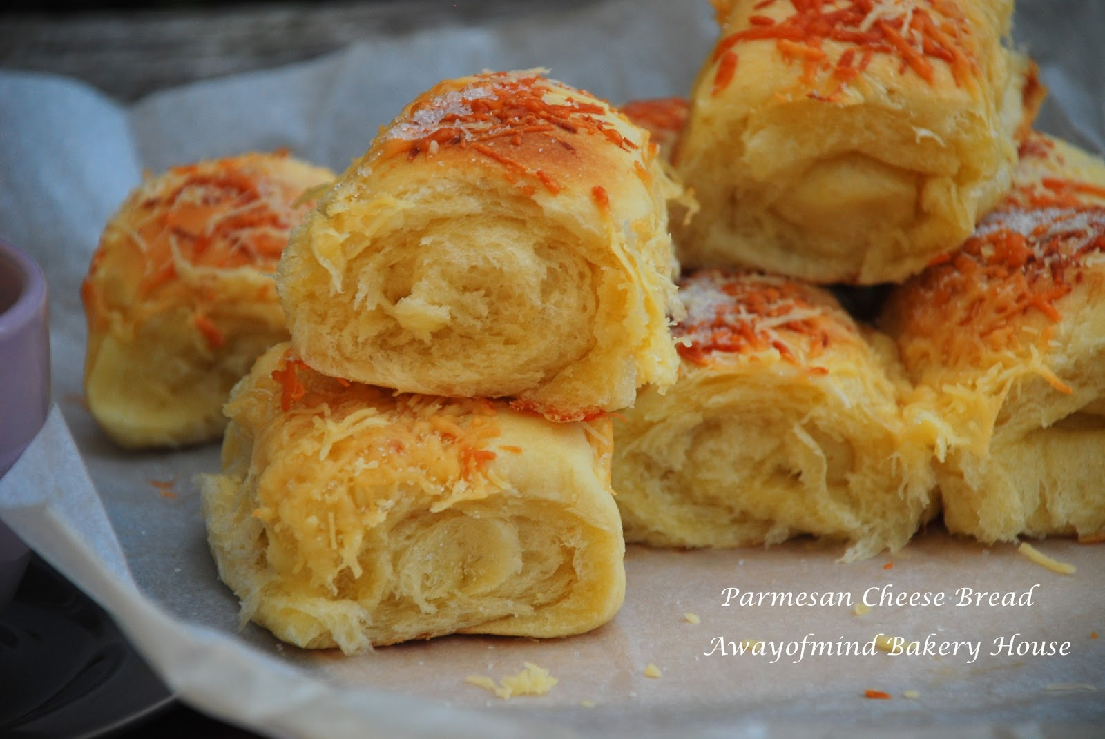 Awayofmind Bakery House: Parmesan Cheese Bread (straight ...