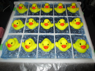 Little Ducky Soaps Going Through Gel Phase